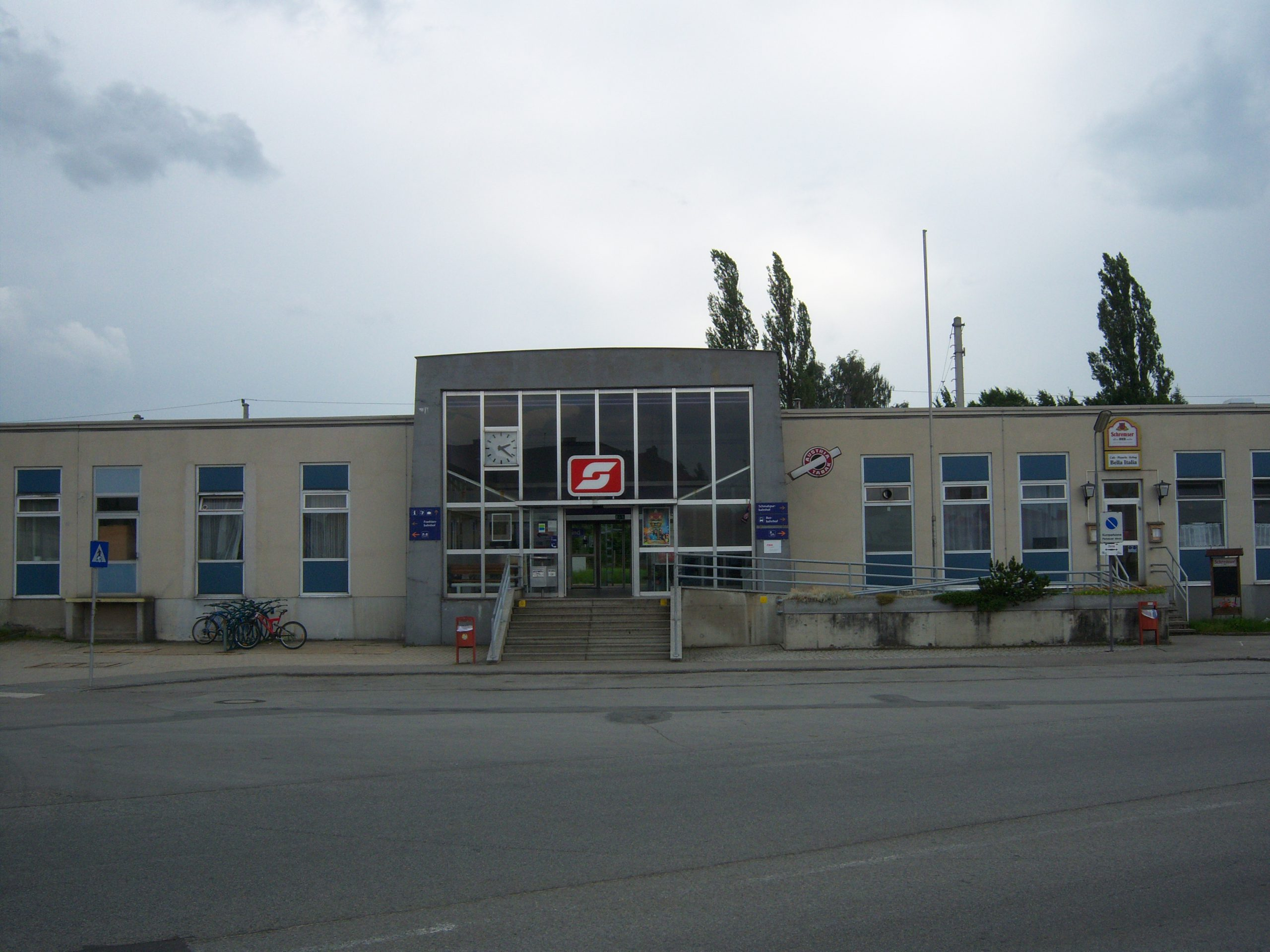 Bahnhof Gmünd 6.Juli 2010 Quelle: Wikipedia.org